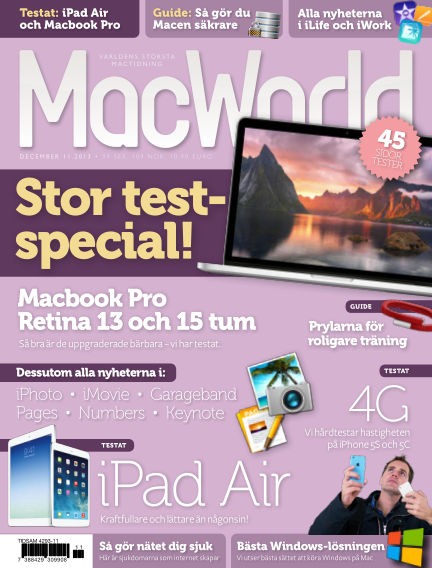 MacWorld (Inga nya utgåvor) November 12, 2013 00:00