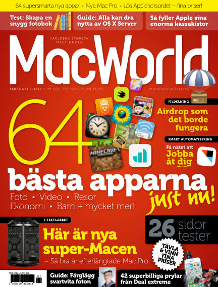 MacWorld (Inga nya utgåvor) January 17, 2014 00:00