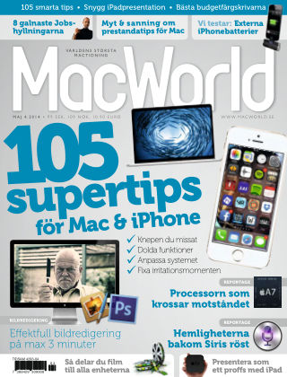 MacWorld (Inga nya utgåvor) 2014-04-18