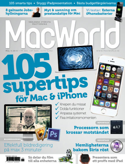 MacWorld (Inga nya utgåvor) April 18, 2014 00:00