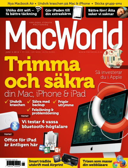 MacWorld (Inga nya utgåvor) May 23, 2014 00:00