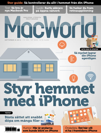 MacWorld (Inga nya utgåvor) August 25, 2014 00:00