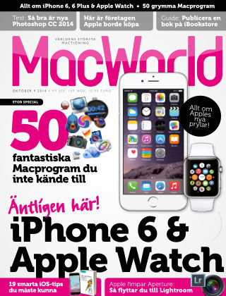 MacWorld (Inga nya utgåvor) 2014-09-17