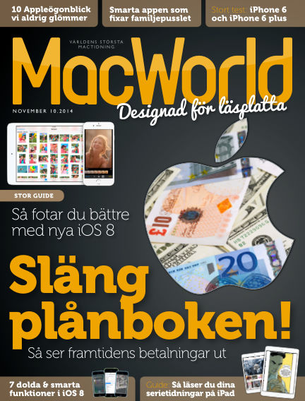 MacWorld (Inga nya utgåvor) October 16, 2014 00:00