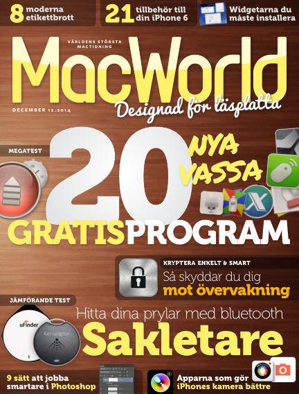 MacWorld (Inga nya utgåvor) December 08, 2014 00:00
