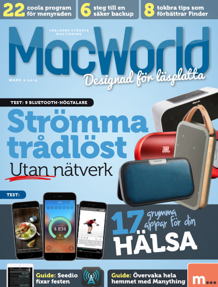MacWorld (Inga nya utgåvor) February 20, 2015 00:00