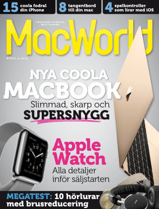 MacWorld (Inga nya utgåvor) 2015-03-11