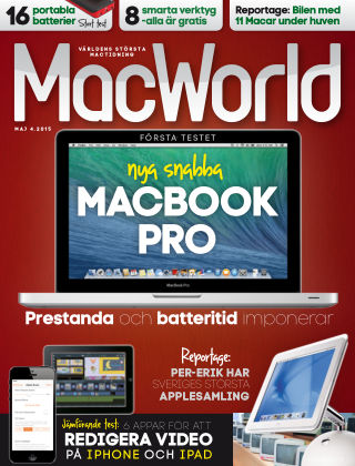 MacWorld (Inga nya utgåvor) 2015-04-10