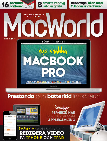 MacWorld (Inga nya utgåvor) April 10, 2015 00:00