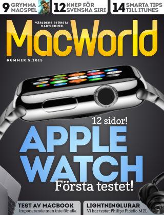 MacWorld (Inga nya utgåvor) 2015-05-15