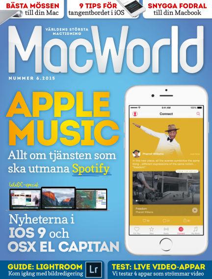 MacWorld (Inga nya utgåvor) June 12, 2015 00:00