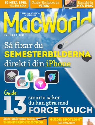 MacWorld (Inga nya utgåvor) 2015-08-21