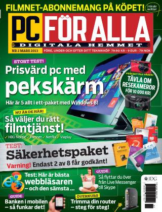 PC för Alla 2013-02-12