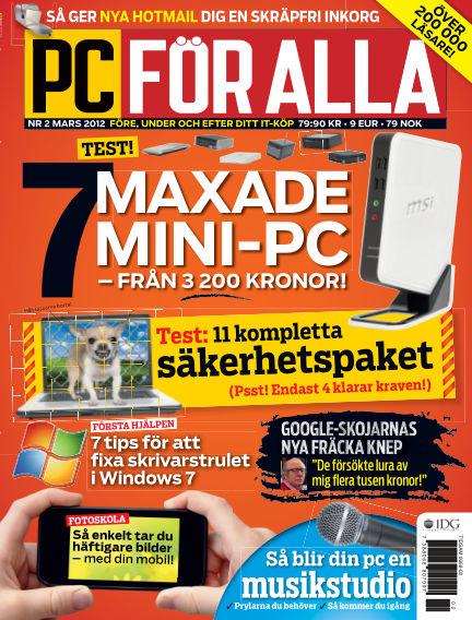 PC för Alla February 10, 2012 00:00