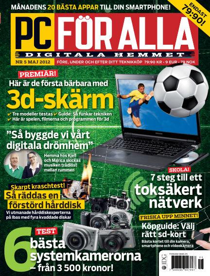 PC för Alla May 04, 2012 00:00