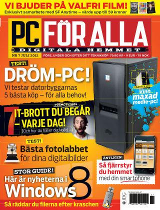 PC för Alla 2012-07-03