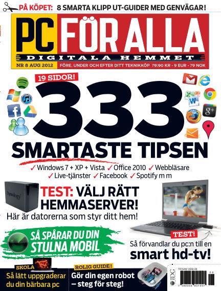 PC för Alla July 24, 2012 00:00