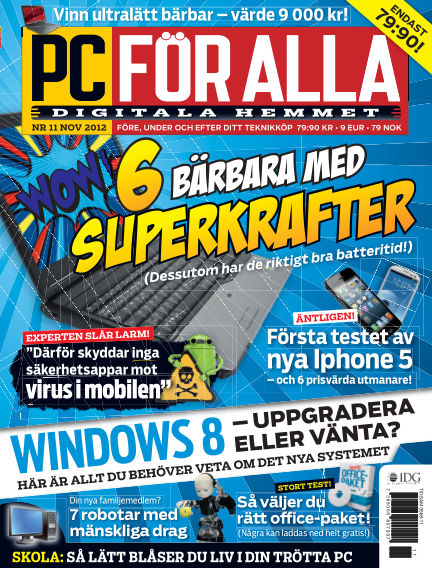 PC för Alla October 16, 2012 00:00
