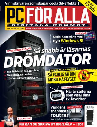 PC för Alla 2012-11-06