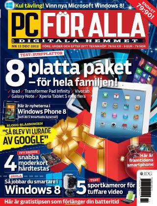 PC för Alla 2012-11-27