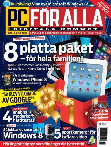 PC för Alla November 27, 2012 00:00