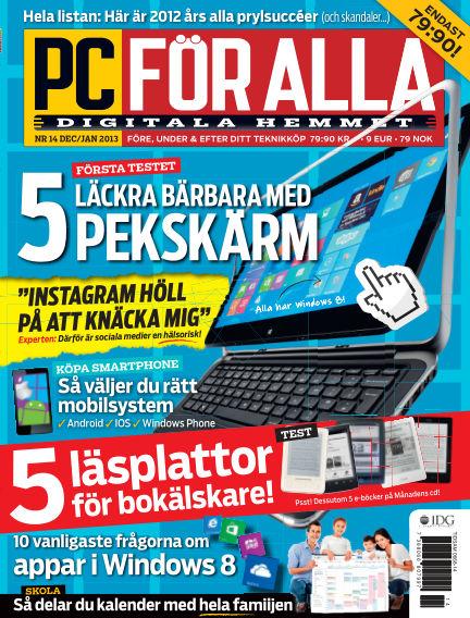 PC för Alla December 12, 2012 00:00