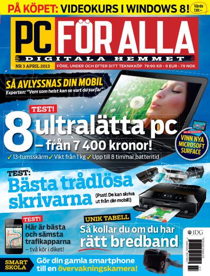 PC för Alla March 12, 2013 00:00
