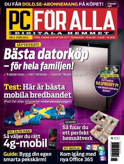 PC för Alla May 14, 2013 00:00