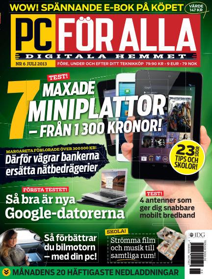PC för Alla June 11, 2013 00:00