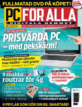 PC för Alla 2013-07-23