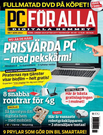 PC för Alla July 23, 2013 00:00