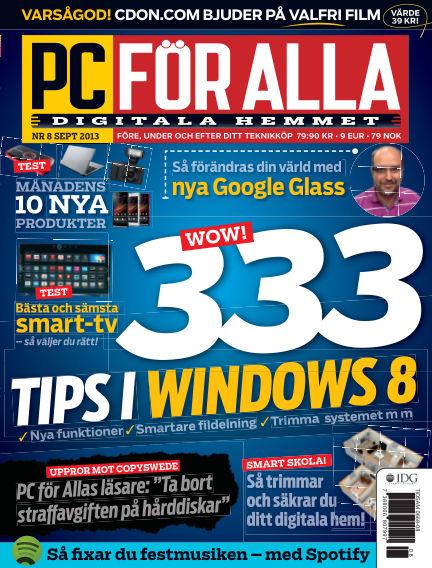 PC för Alla August 22, 2013 00:00