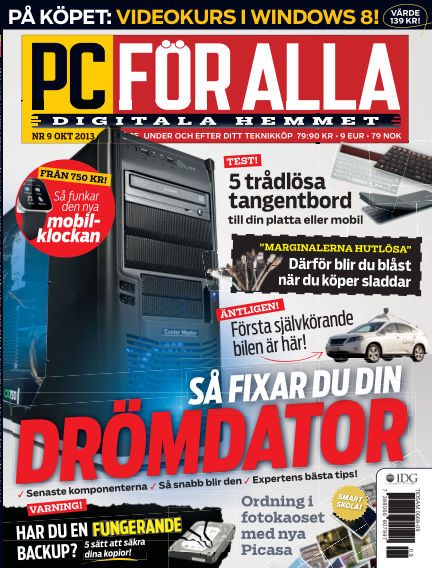 PC för Alla September 10, 2013 00:00