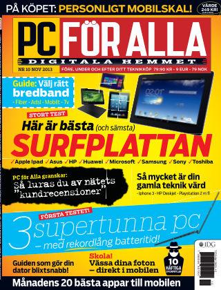 PC för Alla 2013-10-15