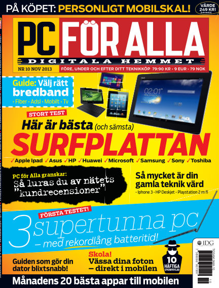 PC för Alla October 15, 2013 00:00