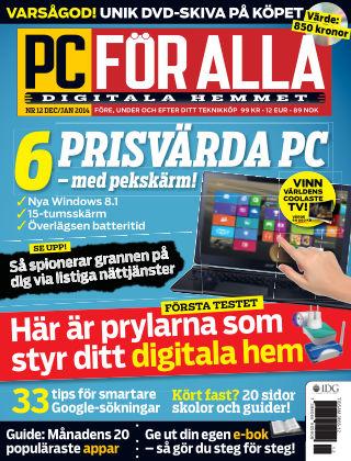 PC för Alla 2013-12-09