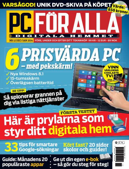 PC för Alla December 09, 2013 00:00