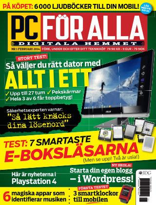 PC för Alla 2014-01-14