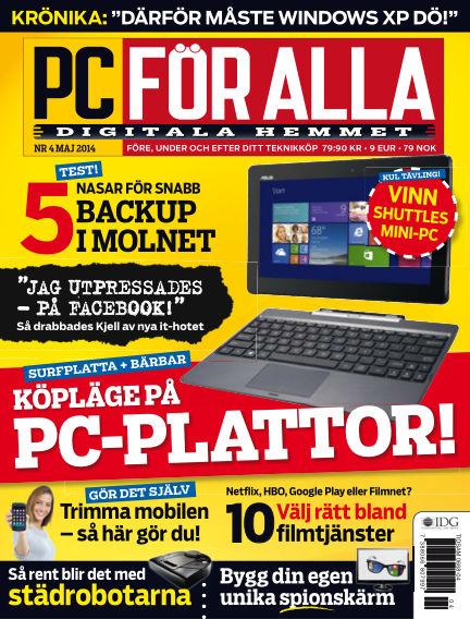PC för Alla April 08, 2014 00:00