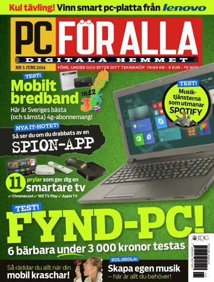 PC för Alla May 13, 2014 00:00