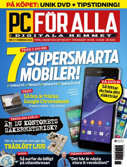PC för Alla June 11, 2014 00:00