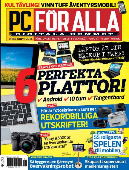 PC för Alla August 26, 2014 00:00