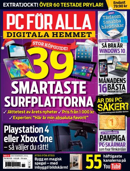 PC för Alla November 12, 2014 00:00