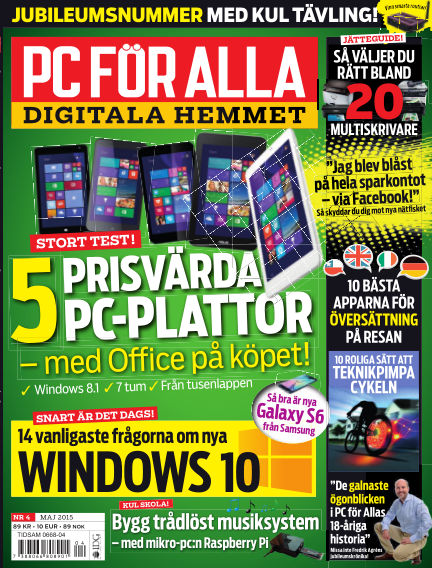 PC för Alla April 14, 2015 00:00