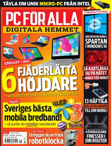 PC för Alla May 12, 2015 00:00