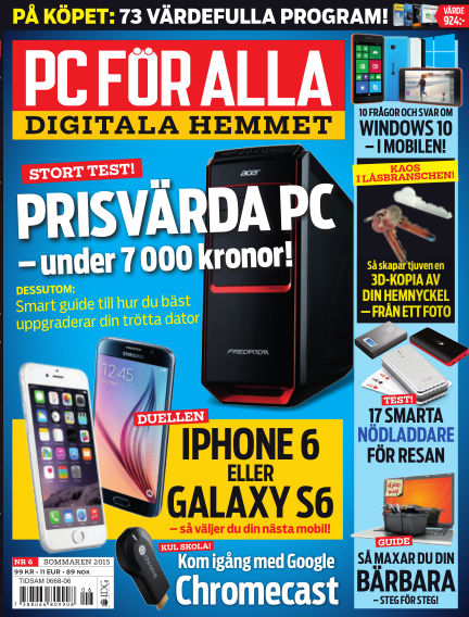 PC för Alla June 09, 2015 00:00