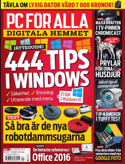 PC för Alla August 04, 2015 00:00