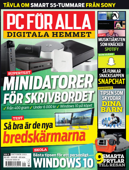PC för Alla September 22, 2015 00:00