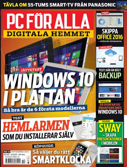 PC för Alla October 20, 2015 00:00