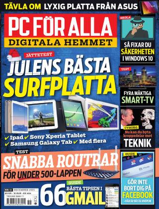 PC för Alla 2015-11-10